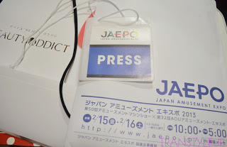 JAPAN AMUSEMENT EXPO 2013 ―その1