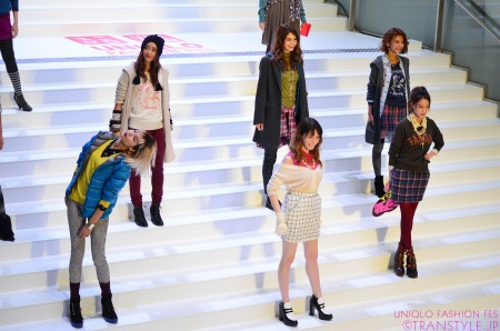 「UNIQLO FASHION FES」×『ViVi』ファッションショー