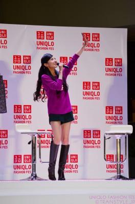 「UNIQLO FASHION FES」×[with]  ベッキー トークショー