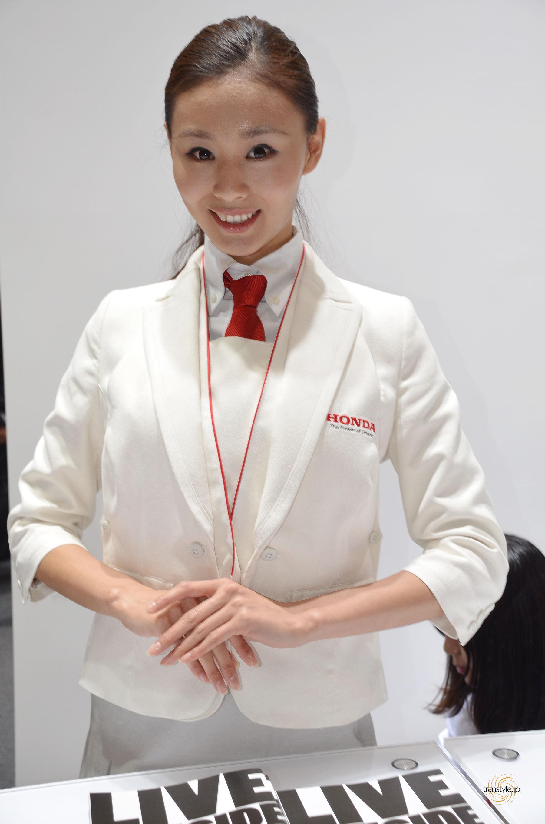 HONDA受付嬢 TokyoMotorShow2013