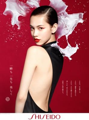 資生堂2014年広告の「顔」に水原希子